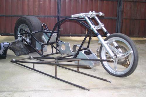 King Racing: Top Fuel Bike // Drag Racing